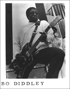 Bo Diddley, blues great.
